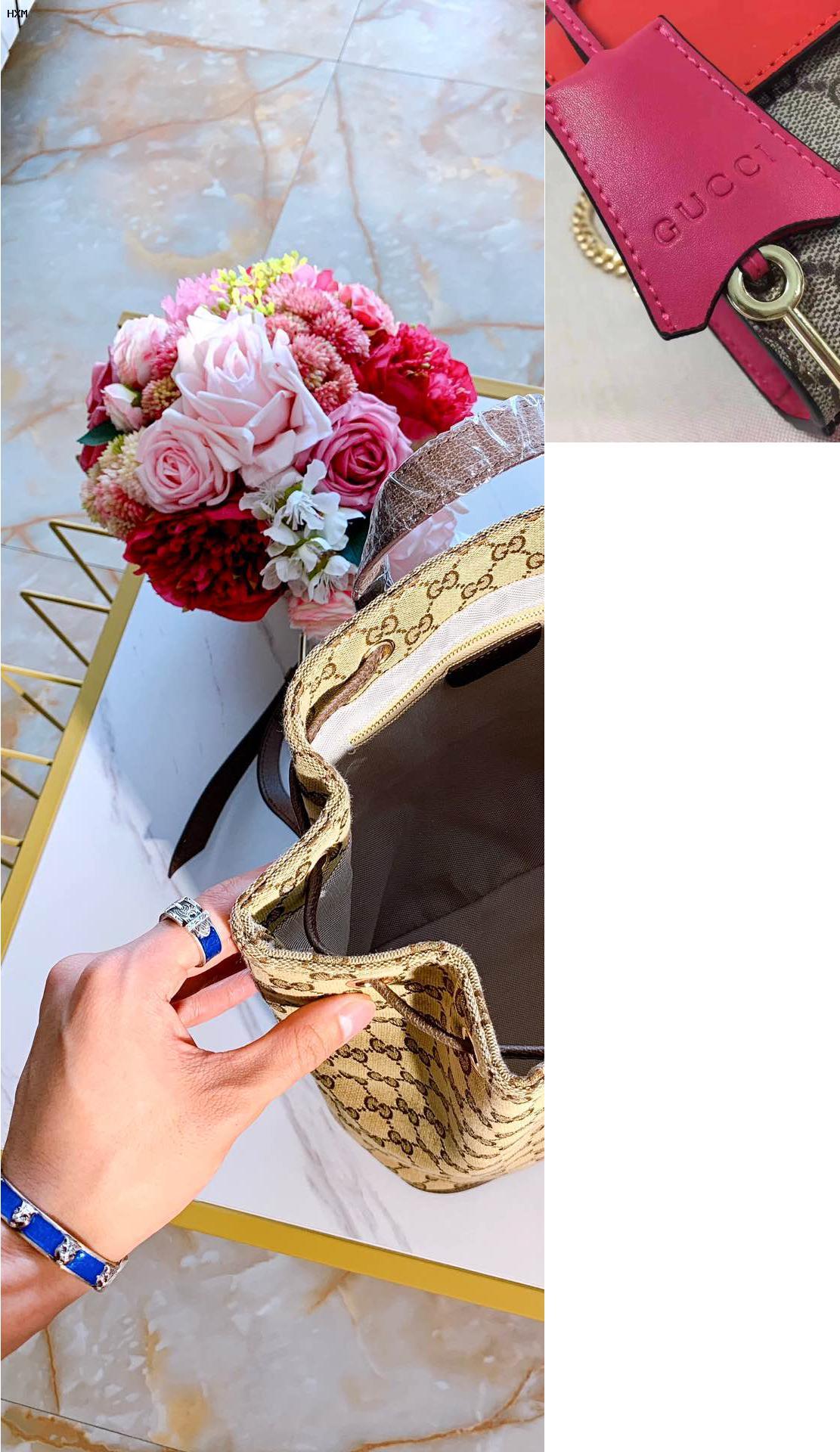 bolso gucci rosa palo